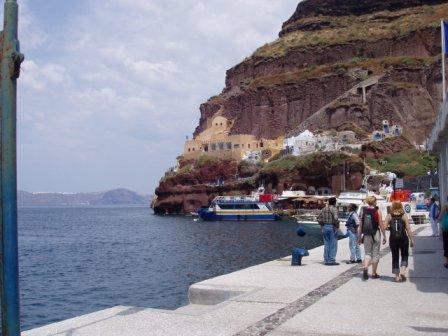 santorini port
