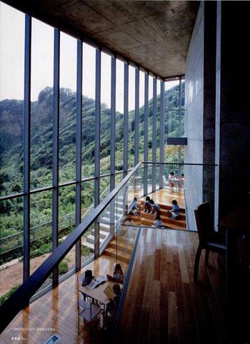 ando_library_outside-inside